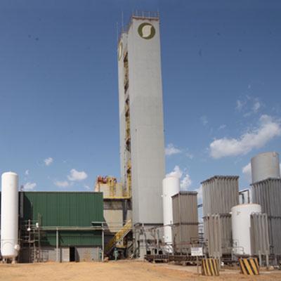 Fábrica de gases do ar no brasil